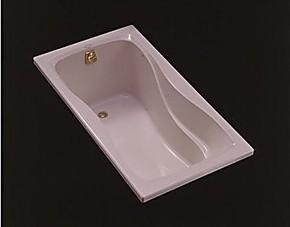 科勒 卫浴 欧格莱斯1.4米亚克力浴缸 K-8272T-0白色 正品