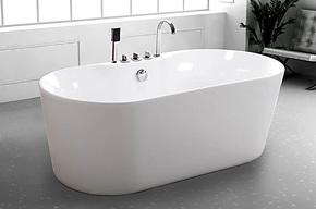 新款上市亚克力浴缸独立浴缸全裙边浴缸对接浴缸,独立式整体浴缸