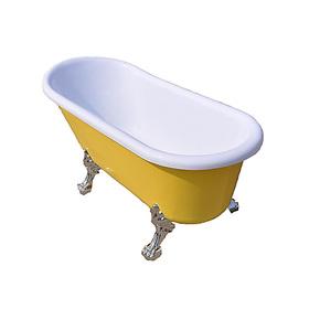 厂家直销高品质亚克力贵妃浴缸/古典浴缸彩色/1.4/1.5/1.6/1.7