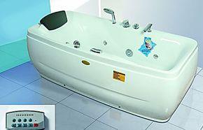 冲浪浴缸按摩浴缸亚克力浴缸双人浴缸贵妃浴缸铸铁1780卫浴小浴缸