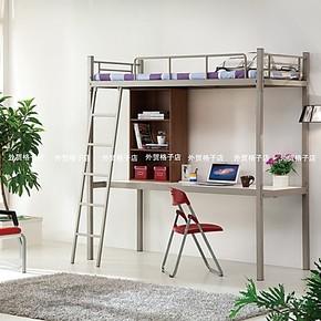 带书桌多功能组合床儿童床子母床高低床铁架床双层床高架床