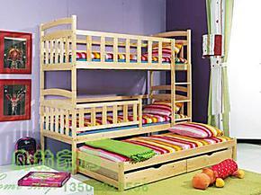 特价北欧宜家高低床带拖抽实木儿童成人双层床上下子母床免邮包邮