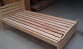 实木床松木床1.5床1.2床儿童床实用床上下高低床子母床1.8大床