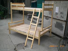 实木子母床/木头床/实木双层床/1.2米/高低铺/上下层/高低床 特价