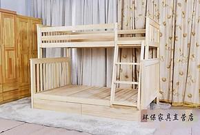 特价实木双层床松木床上下铺子母床高低床亲子床精品儿童床两层床