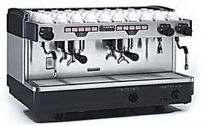 意大利进口FAEMA飞马 E98 A2 双头电控商用开店专业半自动咖啡机