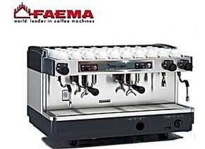 意大利进口FAEMA飞马E98 S2 双头手控专业半自动咖啡机 商用包邮