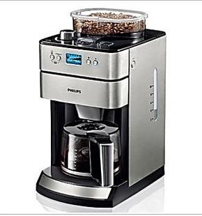 Philips/飞利浦 HD7751全自动咖啡机现磨咖啡机豆粉两用家用联保