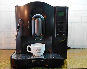 智能咖啡机 美侬707泵压式全自动咖啡机 家用 自动清洗中文显示