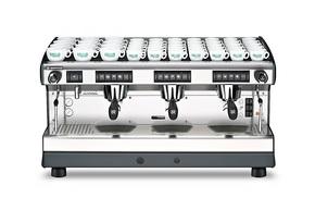 兰奇里奥Rancilio6Classe7电控双头专业半自动意式咖啡机商用保修