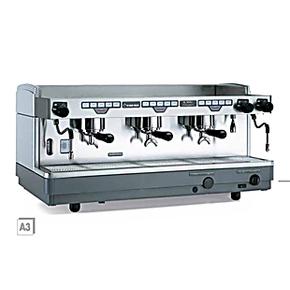 意大利进口 Faema飞马 商用 意式 电控半自动咖啡机 三头 E98 A3