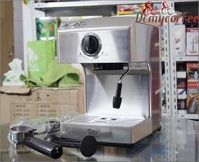 意式半自动家用咖啡机 不锈钢半自动咖啡机 泵压式意式咖啡机