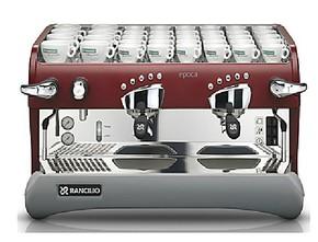 意大利兰奇里奥Rancilio Epoca电控双头半自动专业咖啡机