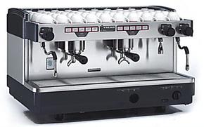 专业半自动咖啡机 意大利进口FAEMA飞马E98双头电控商用 开店专用