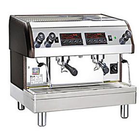 台湾克虏伯KLUB克鲁伯T2双头半自动咖啡机 商用 克鲁博意式咖啡机