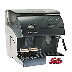 原装索利斯SOLIS master5000全自动咖啡机
