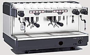 意大利原装进口FAEMA飞马E98 A2 双头电控专业商用半自动咖啡机