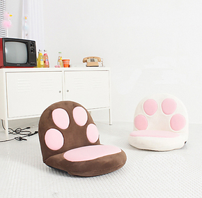 莱嘉雅龙猫熊爪懒人沙发日式猫爪爪记忆休闲椅十一特价包邮