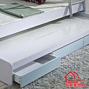 儿童床家具 双层床 高低床配套 衣柜床套装 欧莱美家具 小孩床