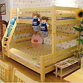 纯实木儿童实木家具/松木环保家具/上下床/子母床/儿童床/高低床