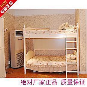 田园风格实木上下床高低床木质定做组装北京鸿鹰家具厂家直销优惠