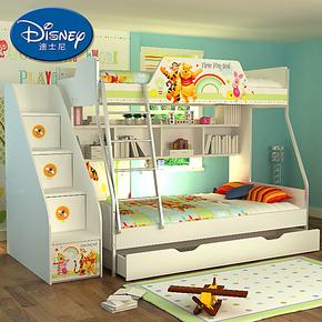 迪士尼 酷漫居儿童家具 双层儿童床 高低床 子母床 维尼拼拼乐园