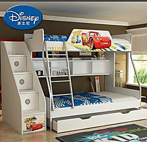 上下床双层床 酷漫居青少年架床高低床 儿童房家具儿童床