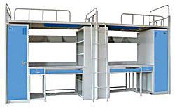 衣柜组合床书桌组合床储物床学生床公寓床高低床上下铺铁床职工床