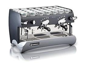 兰奇里奥 LEVER 专业双头电控半自动咖啡机