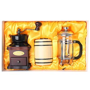 INFUN法式滤压壶礼盒 法压壶 咖啡壶礼盒 咖啡机礼包