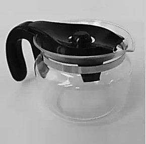灿坤TSK-1171咖啡机专用滴漏式咖啡壶 玻璃壶 咖啡机配件