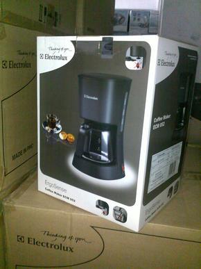 专柜正品 Electrolux/伊莱克斯 ECM052 咖啡机 滴漏式/带机打发票