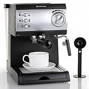 Donlim/东菱 CM-4622 泵压式 意式蒸汽咖啡机 咖啡壶 全国联保
