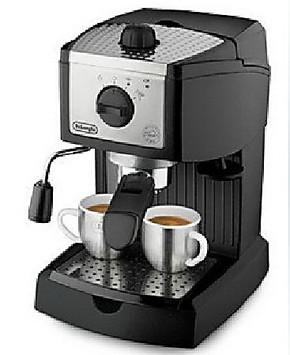 Delonghi/德龙 EC155 家用半自动泵压式意式高压咖啡机 全国联保