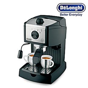 Delonghi/德龙 EC155 德龙泵压式半自动意式特浓咖啡机联保2年
