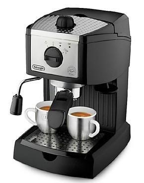 Delonghi/德龙 EC155 德龙半自动咖啡机 泵压式咖啡机 行货联保