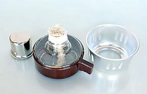 小型酒精灯  摩卡壶、虹吸壶咖啡机玻璃壶配件加热炉具便携环保