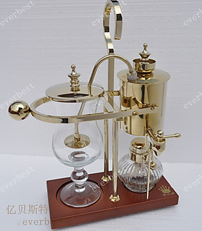 皇家比利时咖啡壶 虹吸式咖啡机 全自动 家用煮咖啡壶 酒精灯