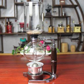 玻璃咖啡机 虹吸壶 酒精灯咖啡壶 家用咖啡器具 3人份5人份虹吸壶