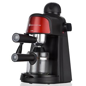 iBelieve/爱本立 CM6810意式半自动咖啡机 压力蒸汽式 电动打奶泡