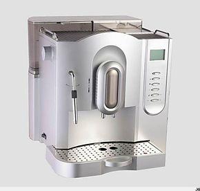 特价 20帕压力 美浓707意大利式浓缩咖啡机 全自动咖啡机 银色