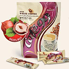 特价办公室饮品 马来西亚进口怡宝cafe99三合一速溶榛果白咖啡40g