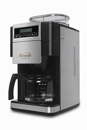 波维乐家用 全自动 商用 不锈钢 磨豆咖啡机 智能送网 特价