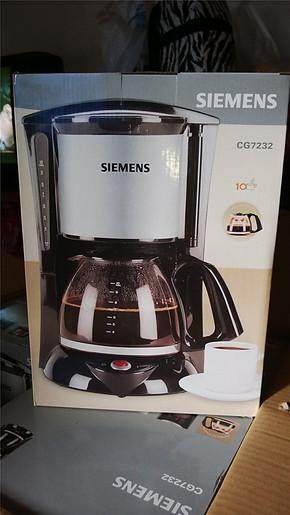 西门子 咖啡机 电咖啡壶 CG7232 包邮