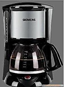 【SIEMENS】德国品质全新西门子*CG7232 漏斗式电咖啡机
