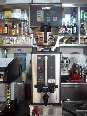 原装进口美国BUNN 咖啡机 美式咖啡机 单头冲茶机 带进口保温桶