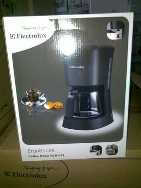 专柜正品 Electrolux/伊莱克斯 ECM052 滴漏咖啡机 带机打发票
