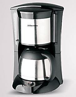 Electrolux/伊莱克斯 EGCM100咖啡机 8杯真空保温咖啡机瑞典品质