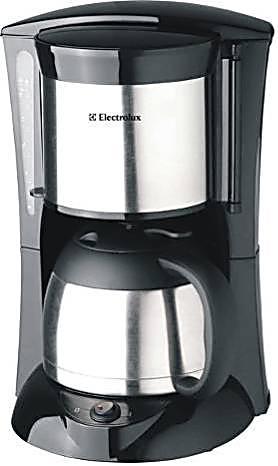 Electrolux/伊莱克斯EGCM100 咖啡机 8杯真空保温咖啡机 正品包邮