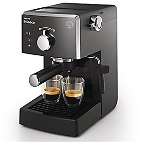 正品 Philips/飞利浦 HD8323 半自动咖啡机 手动浓缩咖啡机